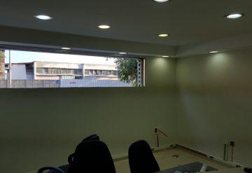 פתח בקיר בטון לאחר ניסור